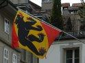 Flagge mit dem Wappen der Stadt Bern