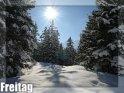 Winterliche Freitagskarte
