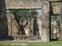 ... Jenes Pompeji, von dem wir jetzt bereits die ersten Bild gesehen haben, und das am 24.8.79 durch einen Ausbruch des benachbarten Vesuvs begraben wurde. ...