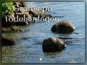Grattis på födelsedagen    Dieses Motiv findet sich seit dem 26. Februar 2020 in der Kategorie Geburtstagsgrüße (versch. Sprachen) - Schwedisch.