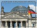 Motiv der Karte: Reichstag mit der Flagge der Einheit rechts im Bild