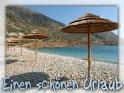 Einen schönen Urlaub  Diese Strandszene stammt aus dem Osten Kretas