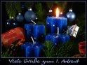 Viele Grüße zum 1. Advent    Dieses Motiv findet sich seit dem 30. November 2007 in der Kategorie Adventskarten.