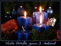 Viele Grüße zum 3. Advent    Dieses Kartenmotiv ist seit dem 30. November 2007 in der Kategorie Adventskarten.