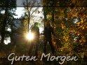 Herbstliche Guten Morgen Karte