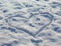 Herz im Schnee    Dieses Motiv findet sich seit dem 06. Januar 2009 in der Kategorie Herzen.