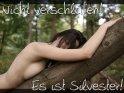 Nicht verschlafen! Es ist Silvester!    Dieses Motiv wurde am 27. Dezember 2009 in die Kategorie Sexy Silvesterkarten eingefügt.