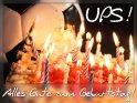 UPS! Alles Gute zum Geburtstag!    Dieses Motiv befindet sich seit dem 26. September 2010 in der Kategorie Geburtstagskarten.