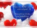 Wenn das Wetter schon nicht mitspielt:  Himmelblaue Grüße zum Valentinstag!    Dieses Motiv findet sich seit dem 28. Januar 2011 in der Kategorie Valentinstag.