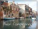 Buon Compleanno    Dieses Motiv ist am 10.02.2020 neu in die Kategorie Geburtstagsgrüße (versch. Sprachen) - Italienisch aufgenommen worden.