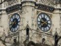 Uhr am Turm des Wiener Rathauses