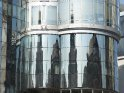 Spiegelung des Stephansdoms im Haas Haus (Architekt: Hans Hollein)