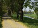 Radweg an der Leine in Göttingen