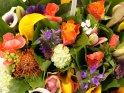 Farbenfroher Blumenstrauß mit zahlreichen Blumen