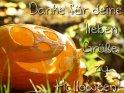 Danke für deine lieben Grüße zu Halloween!    Dieses Motiv gibt es auf CoolPhotos.de seit dem 29. Oktober 2011. Sie finden es in der Kategorie Danke, div Themen.