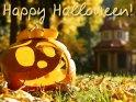 Happy Halloween!    Dieses Motiv finden Sie seit dem 28. Oktober 2011 in der Kategorie Halloweenkarten.