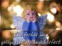 Ein frohes und gesegnetes Weihnachtsfest!    Dieses Motiv befindet sich seit dem 20. Dezember 2011 in der Kategorie Religiöse Weihnachtskarten.