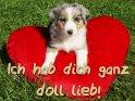 Ich hab dich ganz doll lieb!    Dieses Motiv finden Sie seit dem 25. September 2012 in der Kategorie Ich hab Dich lieb.