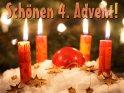 Schönen 4. Advent!    Dieses Motiv wurde am 18. Dezember 2012 in die Kategorie Adventskarten eingefügt.