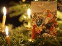 Gesegnete Weihnachten    Dieses Kartenmotiv wurde am 19. Dezember 2012 neu in die Kategorie Antike Weihnachtskarten aufgenommen.