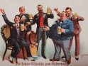 Die besten Wünsche zum Geburtstage  Antike Postkarte mit einem Motiv von Arthur Thiele (1860-1936)