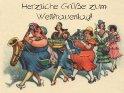 Weltfrauentag!  Antike Postkarte mit einem Motiv von Arthur Thiele (1860-1936).