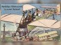 Herzlichen Glückwunsch zu eurer Hochzeit!  Antike Postkarte mit einem Motiv von Arthur Thiele (1860-1936)