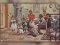 Antike Postkarte zu Ostern mit einem Motiv von Arthur Thiele (1860-1936)