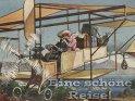 Eine schöne Reise!    Antike Postkarte mit einem Motiv von Arthur Thiele (1860-1936)