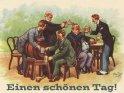 Einen schönen Tag!    Antike Postkarte mit einem Motiv von Arthur Thiele (1860-1936)