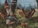 Was würde man nur ohne Freunde machen?    Antike Postkarte mit einem Motiv von Arthur Thiele (1860-1936)