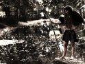 Fantasy-Foto von einer Barbarin an einem See    Dieses Motiv finden Sie seit dem 27. September 2013 in der Kategorie Sonstige Personenfotos.
