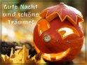Gute Nacht und schöne Träume!    Dieses Kartenmotiv wurde am 31. Oktober 2013 neu in die Kategorie Gute Nacht (Jahreszeiten) aufgenommen.