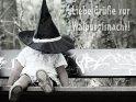 Liebe Grüße zur Walpurgisnacht!    Dieses Motiv finden Sie seit dem 30. April 2013 in der Kategorie Walpurgisnacht.