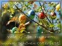 Viele Grüße zu einem wunderschönen Osterfest!    Aus der Kategorie Osterkarten