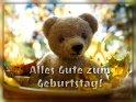 Alles Gute zum Geburtstag!    Aus der Kategorie Geburtstagskarten für Bärenfreunde