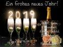 Ein frohes neues Jahr!  Glück, Liebe  Gesundheit,  Erfolg, Geduld,  Zufriedenheit  und  Freundschaft!    Dieses Kartenmotiv ist seit dem 29. Dezember 2018 in der Kategorie Silvester & Neujahrskarten.