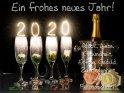 Ein frohes neues Jahr!  Glück, Liebe  Gesundheit,  Erfolg, Geduld,  Zufriedenheit  und  Freundschaft!    Dieses Motiv wurde am 29. Dezember 2019 in die Kategorie Silvester & Neujahrskarten eingefügt.