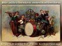 Die allerbesten musikalischen Glückwünsche zum Geburtstag!    Antike Postkarte mit einem Motiv von Arthur Thiele (1860-1936)