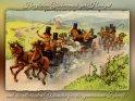 Herzlichen Glückwunsch zur Hochzeit  und die allerbesten Wünsche für die gemeinsame Zukunft!  Antike Postkarte mit einem Motiv von Arthur Thiele (1860-1936)