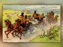 Ruebli Hochsig  Fründlichi Gruess usem Ruebliland    Antike Postkarte mit einem Motiv von Arthur Thiele (1860-1936)