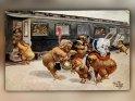 Antike Osterkarte mit einem Motiv von Arthur Thiele (1860-1936)    Dieses Kartenmotiv wurde am 28. März 2015 neu in die Kategorie Antike Osterkarten aufgenommen.
