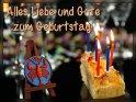 Sternzeichen Krebs:  Alles Liebe und Gute zum Geburtstag!  Hinweis: in den jeweiligen Randbereichen hängt das Sternzeichen auch von der Uhrzeit sowie dem Jahr (wegen Schaltjahren etc.) der Geburt ab. Vom 23.6. bis zum 21.7. ist es aber praktisch immer das Sternzeichen Krebs.