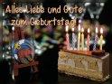 Sternzeichen Steinbock:  Alles Liebe und Gute zum Geburtstag!  Hinweis: in den jeweiligen Randbereichen hängt das Sternzeichen auch von der Uhrzeit sowie dem Jahr (wegen Schaltjahren etc.) der Geburt ab. Vom 23.12. bis zum 18.1. ist es aber praktisch immer das Sternzeichen Steinbock.