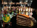 Sternzeichen Skorpion:  Alles Liebe und Gute zum Geburtstag!  Hinweis: in den jeweiligen Rand