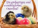 Ein großartiges und wunderschönes Osterfest!    Aus der Kategorie Tierische Osterkarten