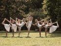 Gruppe von Tänzerinnen (Jazz-Dance)