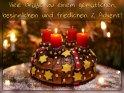 Viele Grüße zu einem gemütlichen, besinnlichen und friedlichen 2. Advent!     Dieses Motiv befindet sich seit dem 01. Dezember 2016 in der Kategorie Adventskarten.
