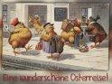 Eine wunderschöne Osterreise!    Antike Osterkarte mit einem Motiv von Arthur Thiele (1860-1936)    Dieses Motiv befindet sich seit dem 31. März 2015 in der Kategorie Antike Osterkarten.