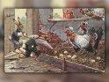 Antike Osterkarte mit einem Motiv von Arthur Thiele (1860-1936)
